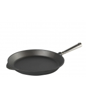 Cast iron frying pan 28 cm Stainless steel handle